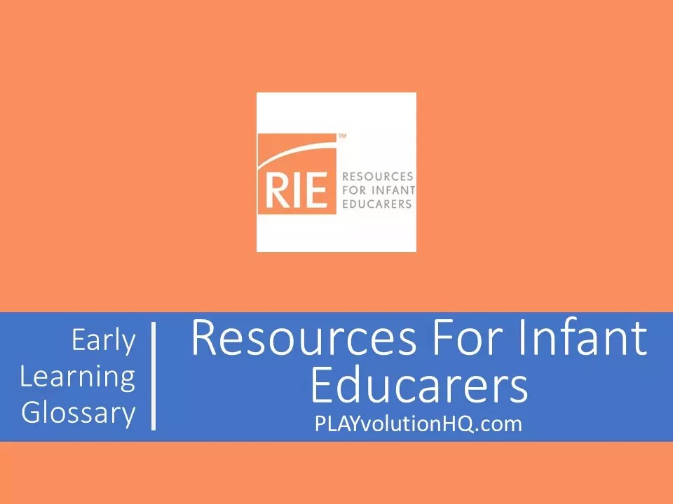 Resources For Infant Educarers