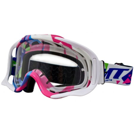 MT Crazy Motocross Goggles Multi Coloured