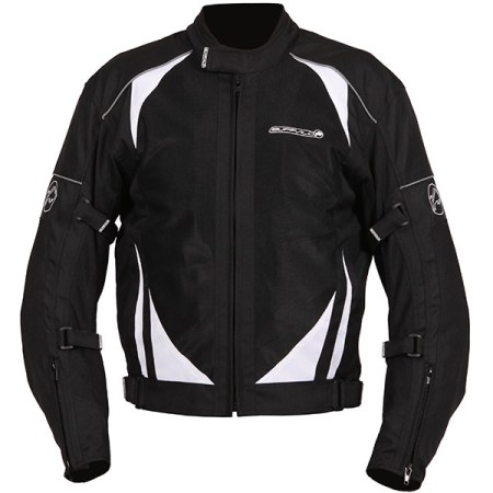 Buffalo Coolflow ST Motorcycle Jacket Black
