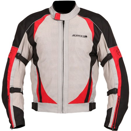 Buffalo Coolflow ST Motorcycle Jacket Stone