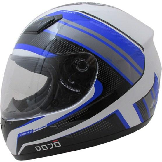 Dojo Imola Overcome Motorcycle Helmet Blue