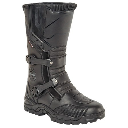 Akito Latitude Motorcycle Boots Black