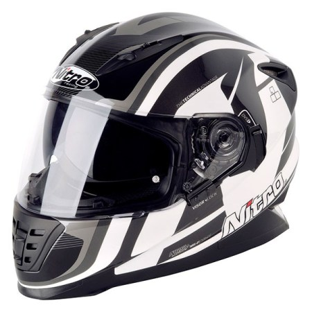 Nitro NRS-01 Pursuit Motorcycle Helmet Black