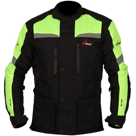 Weise Munich Motorcycle Jacket Neon