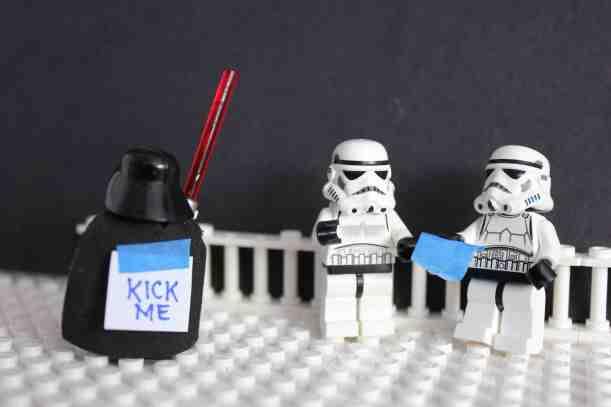Darth Vader Kick Me