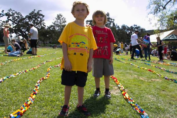 Play-Well hosted an event last fall where we broke the Guinness World Record for the Longest LEGO Chain. We are hoping for another win!