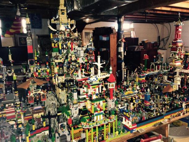 Woah. That's a lot of building and LEGO!!