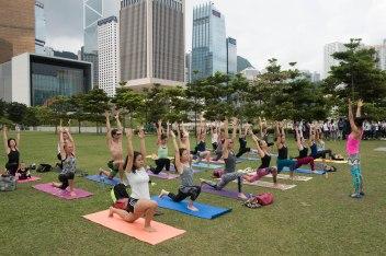 20150502 - Cora Tamar Park Yoga II - 118