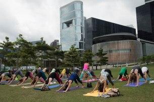 20150502 - Cora Tamar Park Yoga II - 135
