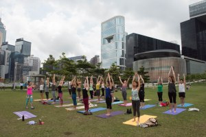 20150502 - Cora Tamar Park Yoga II - 164