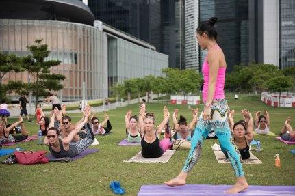 20150502 - Cora Tamar Park Yoga II - 249