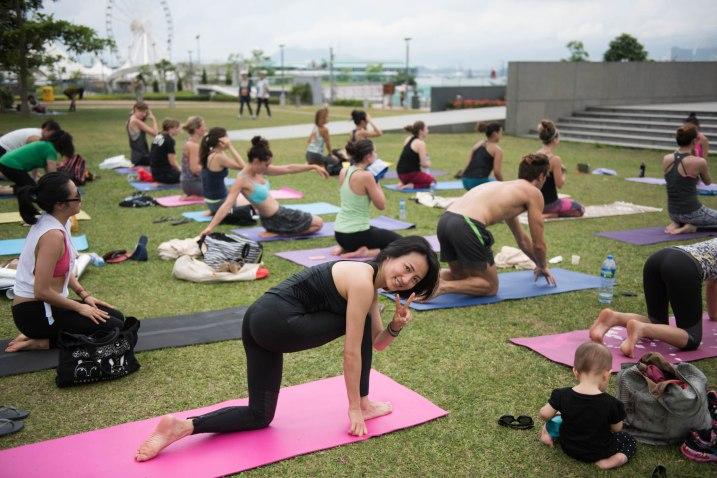 20150502 - Cora Tamar Park Yoga II - 284