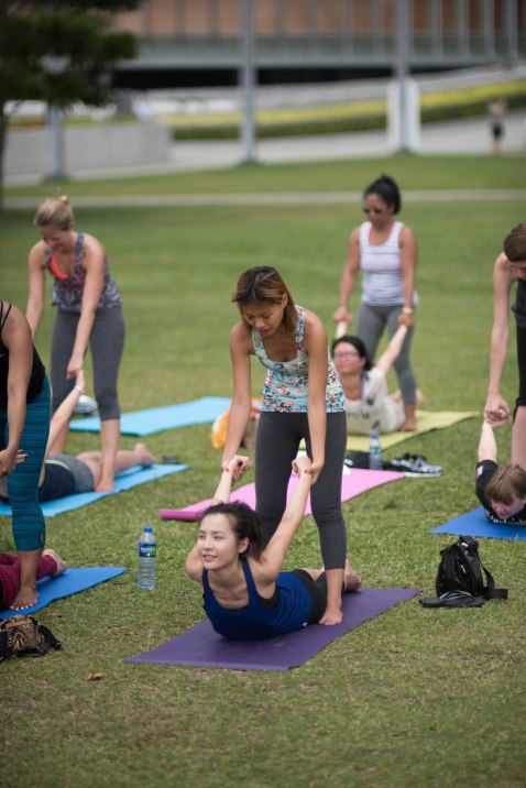 20150502 - Cora Tamar Park Yoga II - 314