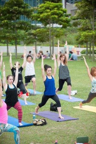 20150502 - Cora Tamar Park Yoga II - 852