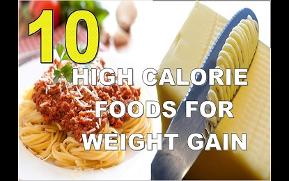 Top 10 High Calorie Foods To Gain Weight