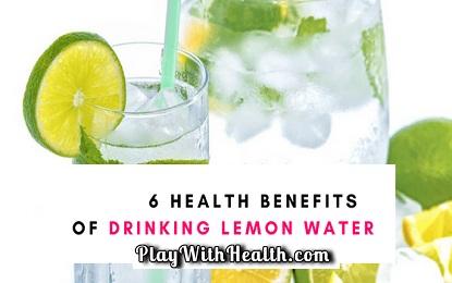 6 Benefits of Drinking Lemon Water
