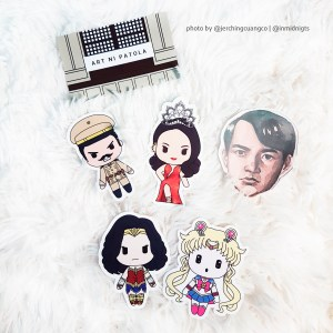 Catriona Gray Heneral Luna Stickers
