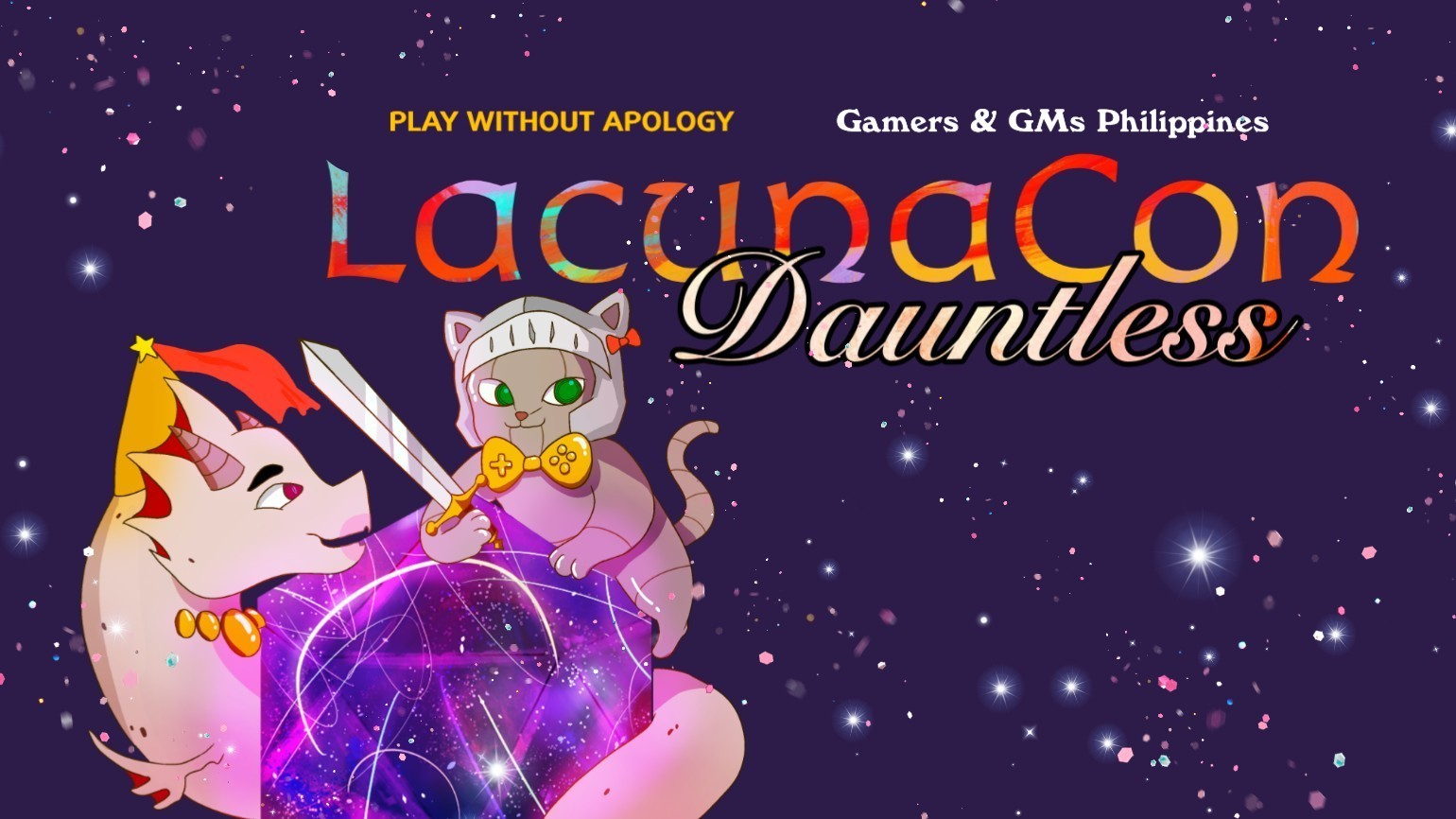 Road to #LacunaCon2019: Are you ready to play without apology?
