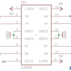 L298 H Bridge Circuit Diagram Cement Process Flow Manual E Books Dc Motor Driver Circuitsl298 16