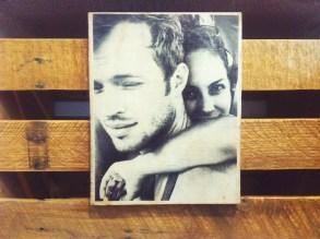 Alternative gift idea | Your photo on wood