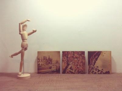 "6""x6"" Travel Series Wood Print"