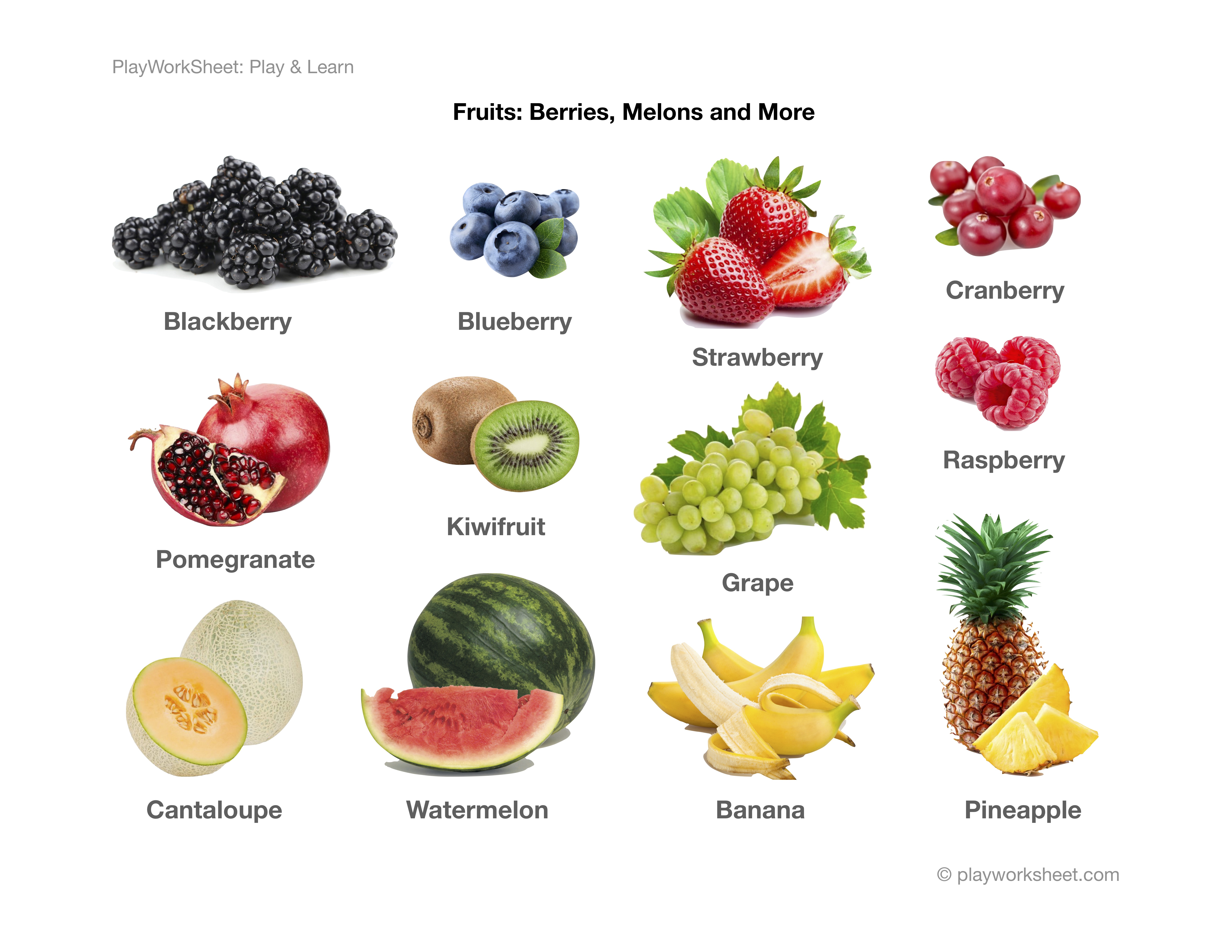 Fruits Pictures Berries Melons And More