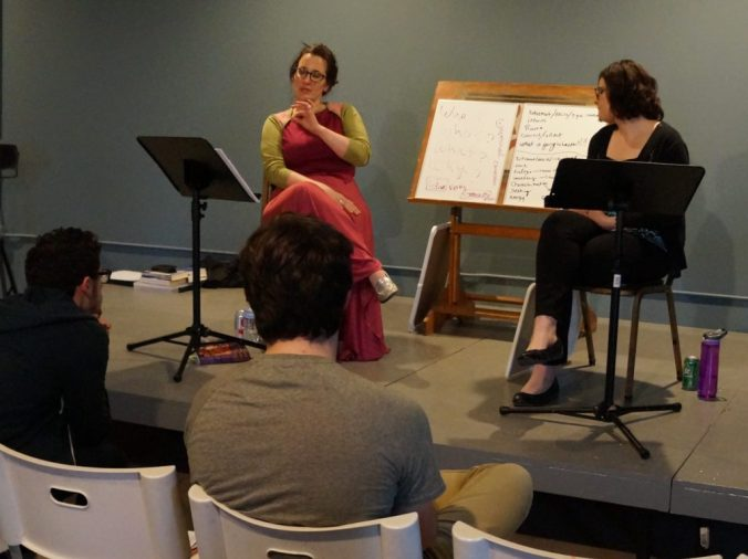 "From the workshop ""Crafting a Great Synopsis"" with Arwen Mitchell and Rachel Lerner-Ley"