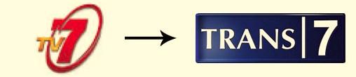 [img.9] Perubahan Logo Perusahaan Indonesia Trans 7