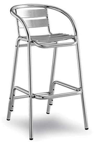 Chaises Bistrot Aluminium 63 Round Slate Outdoor Patio