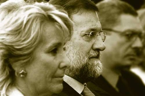 imagen de Aguirre, Rajoy y Galardón