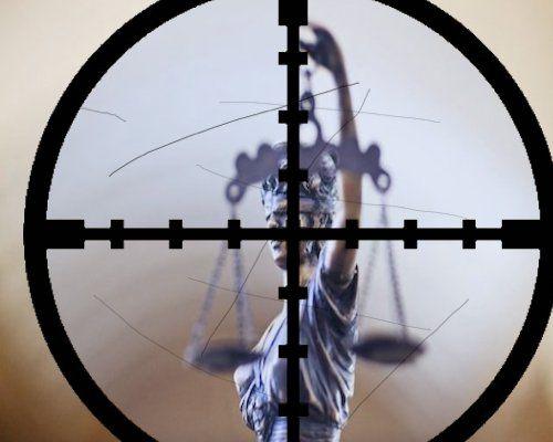 justicia en el punto de mira