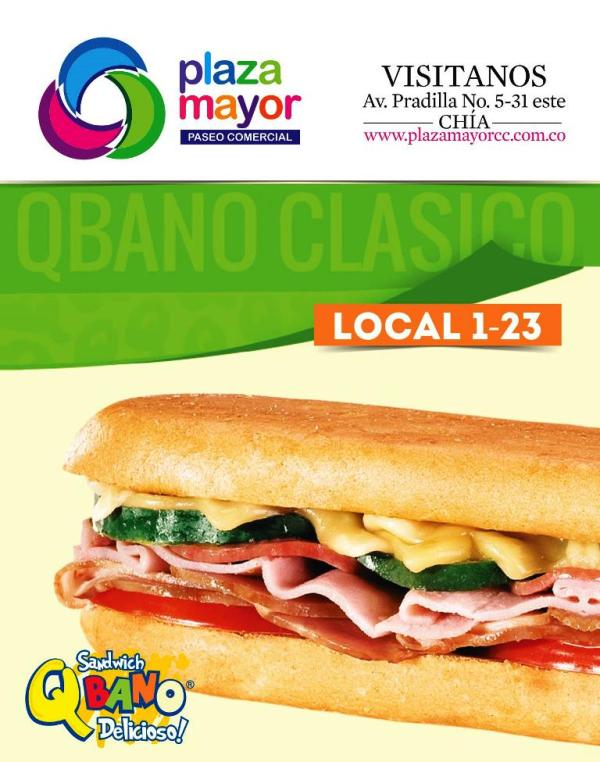 Sandwich Qbano - Chía