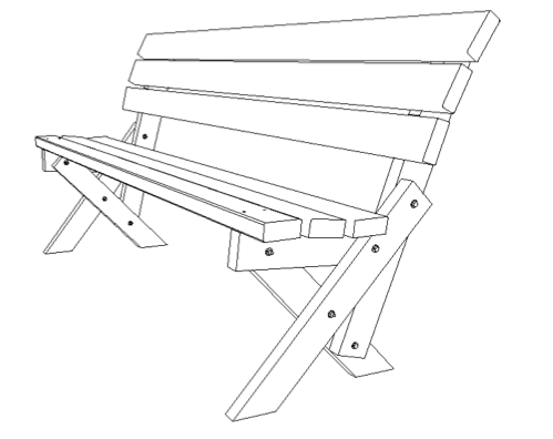 Bench diagram