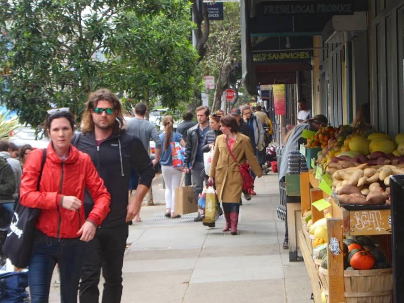 Haight Street shops