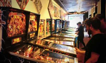 The Garage That Became a Pinball Arcade