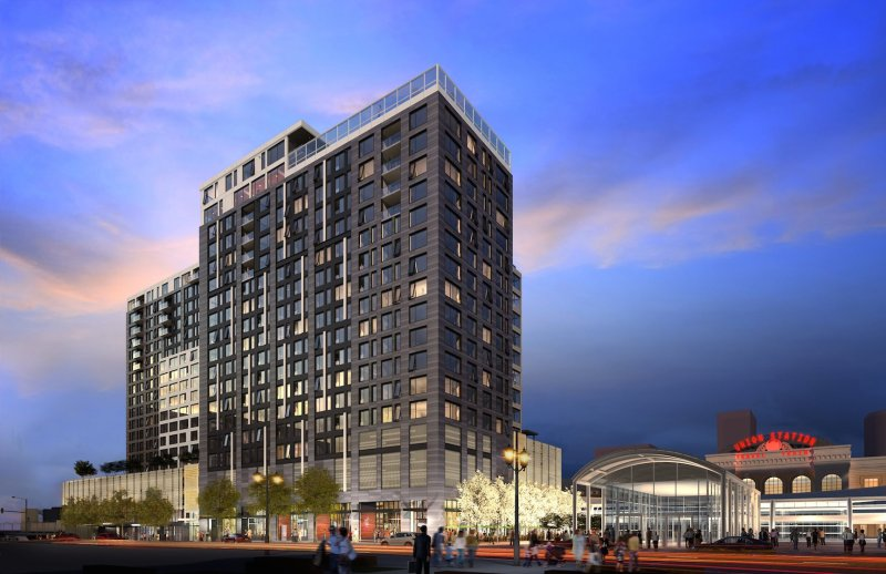 Coloradan, the $220 million condo project next to Union Station