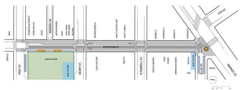 Stockton overhead map