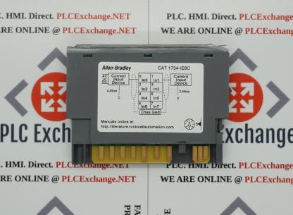 Allen-Bradley 1734-IE8C POINT I/O 24V Dc 8 Channel High Density Analog Current Input Module