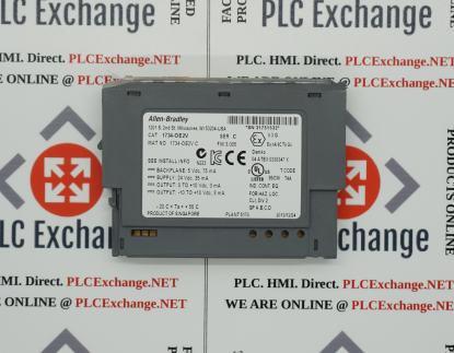 Allen-Bradley 1734-OE2V POINT I/O 24V Dc 2 Channel High Density Analog Voltage Output Module