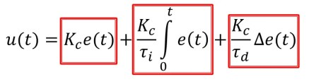 Dependent Form PID Controller Equation