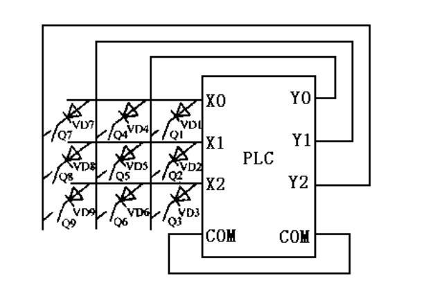 mitsubishi plc wiring diagram example