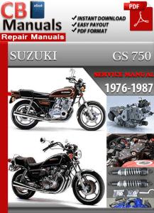 Suzuki Gs 750 1976 1987 Service Manual Free Download Service Repair Manuals