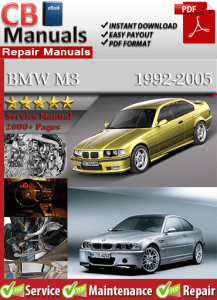 bmw m3 2000 service repair manual service repair manuals. Black Bedroom Furniture Sets. Home Design Ideas