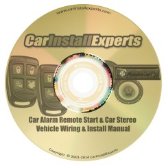 Car Alarm Installation Wiring Diagram 1998 Ford Taurus 1993 Chevrolet Suburban Remote Start Stereo