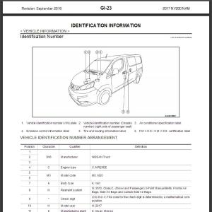 Nissan Nv200 Wiring Harness Nissan Lights Wiring Diagram ~ ODICIS