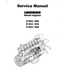John Deere D924 D926 For 655c 755c Crawler Loader Engine