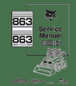 Download Bobcat 863 Skid Steer Loader Service Repair