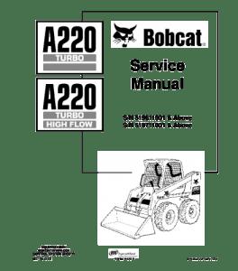 Download Bobcat A220 Turbo Skid Steer Loader Service