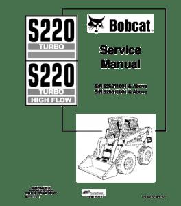 Download Bobcat S220 Skid Steer Loader Service Repair