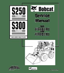Download Bobcat S250 S300 Skid Steer Loader Service Repair